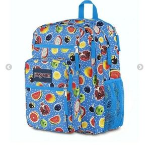 NWT Jansport Big Student Backpack Fruit Is Fun